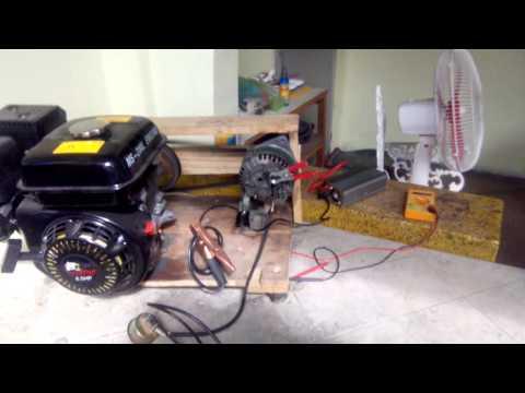 Alternator gasoline engine inverTer generator.