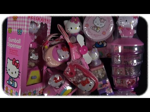 Hello Kitty - Candy Toys [mega Unboxing] video