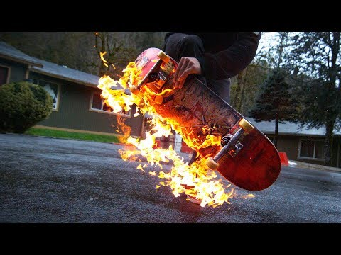 FIRE vs RAIN Skateboarding (Chris Chann, Michael Davis, Blake Jossi & more)