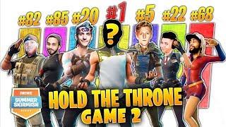 Who beat Ninja, Myth, Tfue, Daequan in $500,000 Summer Skirmish Game 2