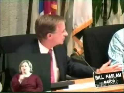 Bill Haslam on self defense in public places