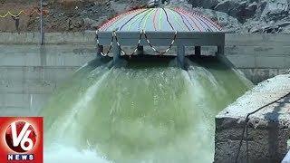 Kaleshwaram Project 6th Package First Pump Wet Runs Successfully in Nandi Medaram