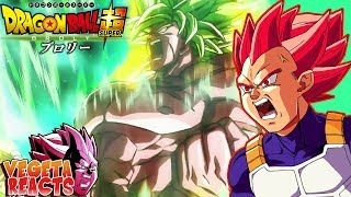 Download Lagu Vegeta Reacts To Dragon Ball Super: Broly Trailer #3 - (English Sub) Gratis STAFABAND