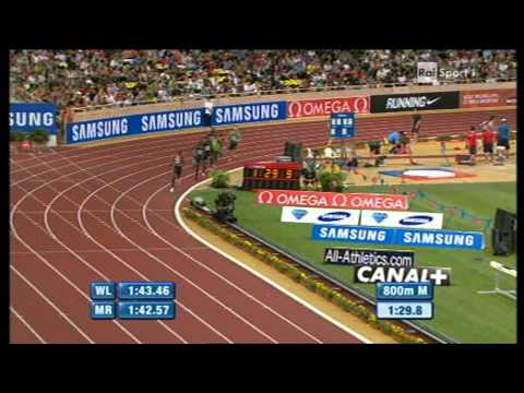 800m men Meeting Herculis Monaco 2011