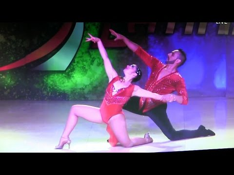 WLDCup 2015 ~ Semi Final Salsa Parejas On1 ~ Antonella Vecchio & Mauro Sosa