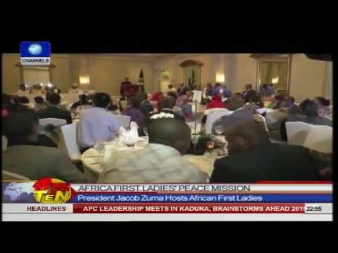 News@10: Namibia Coach Tips Super Falcons For 2014 AWC Title 181014 Pt.4