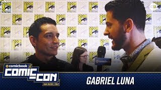 Gabriel Luna Talks Terminator: Dark Fate - San Diego Comic-Con 2019 Interview