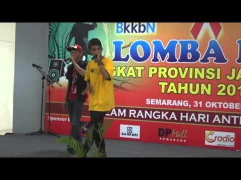Lomba RAP BKKBN Jawa Tengah 31 Oktober 2015, Semarang Juara Favorit