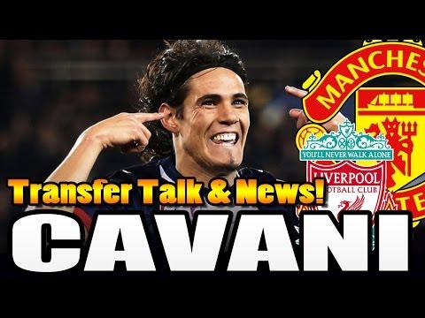 EDINSON CAVANI zu Manchester United? - TRANSFER TALK 2015 [DEUTSCH]