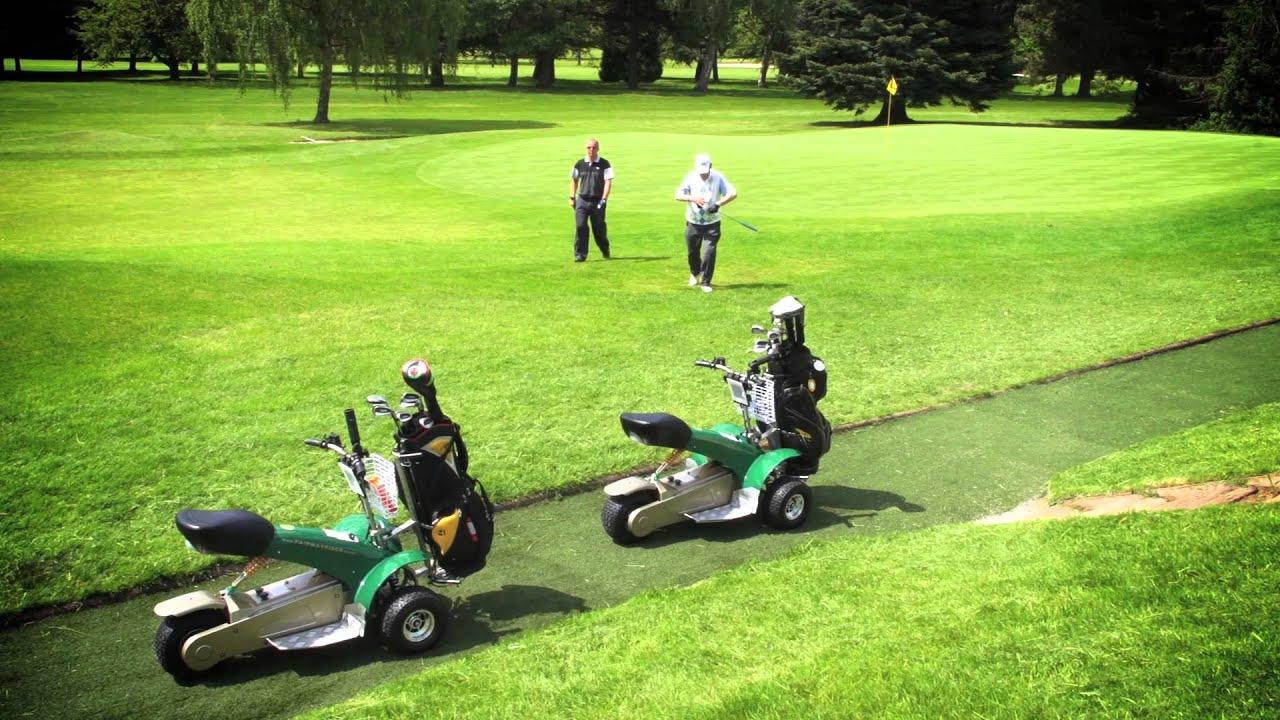 Ride On Mower >> Single Seat Golf Buggy Single Seater Ride On Golf Buggies - YouTube