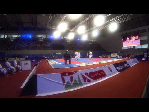 Male Team Kata Turkey Bronze Medal match. 48th European Karate Championships