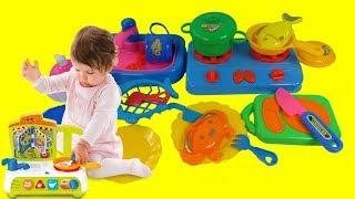 Childrens Kitchen Toy Playset 깜짝 장난감 언 박싱 리뷰 – 3S