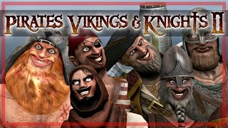 PROFESSOR SQUEAKY TITS! - Pirates, Vikings, & Knights 2 Funny Moments!