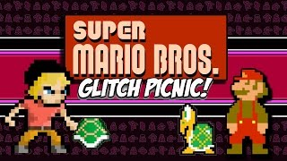 Super Mario Bros Glitch Picnic! | Super Mario Bros (NES) Glitches | MikeyTaylorGaming