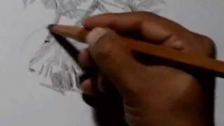 Demo of Landscape painting in Pencil Media by Rahul Deshpande