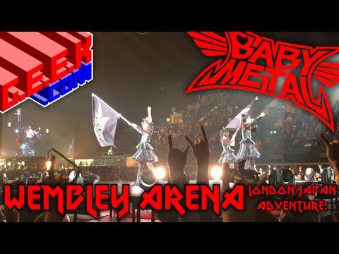 BABYMETAL (ベビーメタル) at Wembley Arena! London/Japan Adventure!