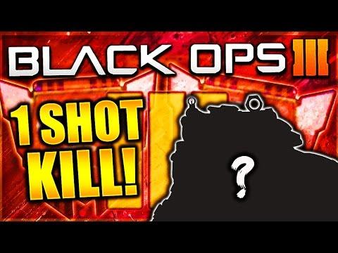 INSANE ONE SHOT KILL GUN IN BLACK OPS 3! BO3 BEST CLASS SETUP ASSAULT RIFLE! (BO3 BEST CLASSES)