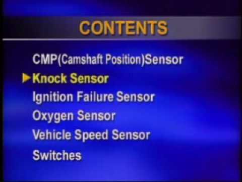 sensores del sistema de inyeccion electronica (parte 2)