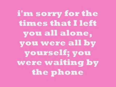 Im Sorry - DJ Sancho LYRICS