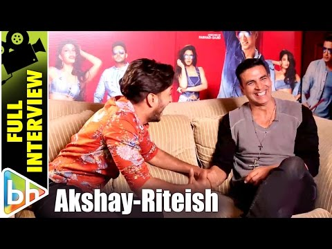Akshay Kumar | Riteish Deshmukh's Full Interview On Housefull 3