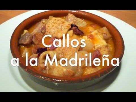 Callos a la madrileña - Recetas de cocina españolas