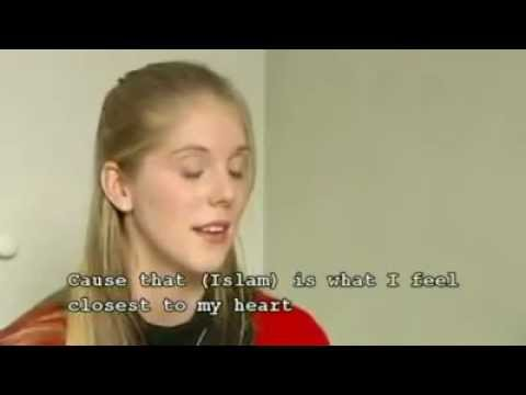 Swedish Girl Converted to Islam ( English Subtitle)