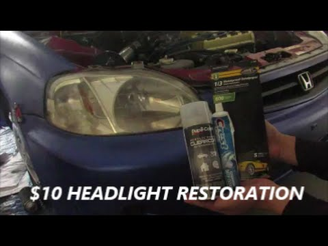 DIY Headlight Restoration For $10