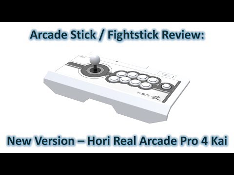 Review: Updated Version of the Hori Real Arcade Pro 4 Kai (HRAP4 Kai)