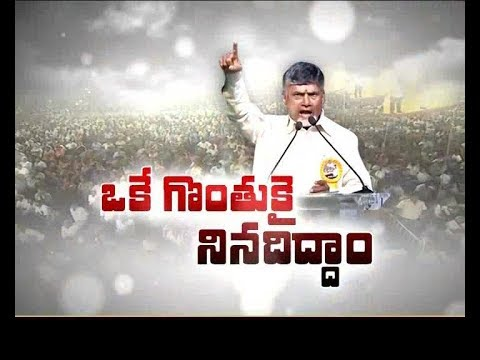 Special Status to AP | Every Man should work as a Warrior | CM Chandrababu