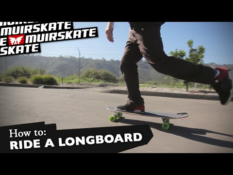 How To: Ride a Longboard with Louis Pilloni and Chelsea Nelson | MuirSkate Longboard Shop