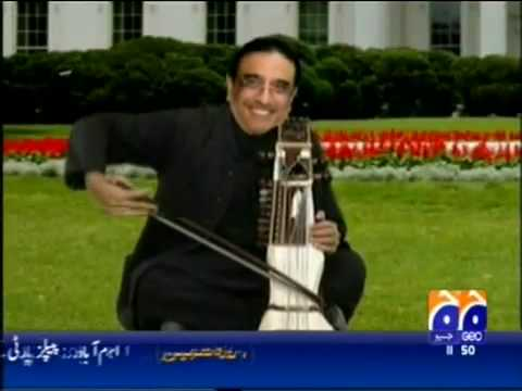 Barak Obama Asi Ali Zardari Hamid Karzai Dance In Pashto Rahim Shah Song Osama De Osama video
