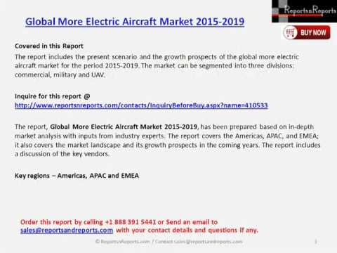 Global More Electric Aircraft Market 2015 2019
