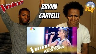 "Download Lagu The Voice 2018 Blind Audition - Brynn Cartelli: ""Beneath Your Beautiful"" (REACTION) Gratis STAFABAND"