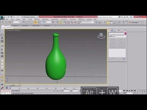 3ds Max Bottle 3ds Max Bottle Modeling