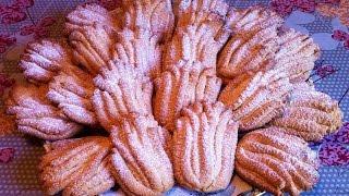 Печенье Хризантемы / Печенье Через Мясорубку / Песочное Печенье / Простой Рецепт (Быстро и Вкусно)