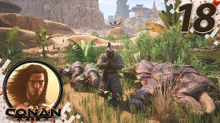CONAN EXILES (NEW SEASON) - EP18 - Easy Demon Blood! (Gameplay Video)