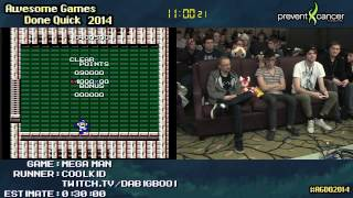 Mega Man [NES] :: SPEED RUN (0:22:10) by coolkid #AGDQ 2014