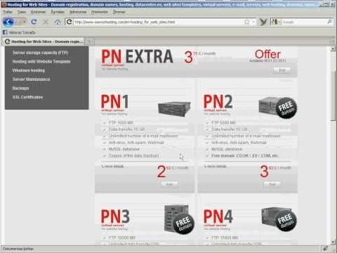 0 Hosting and Domain Name Registration, Payment by PayPal system   owexxhosting.com (help video)