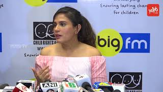 Richa Chadda Interacts and Shares Happiness Stories With CRY Kids Along With BigFm