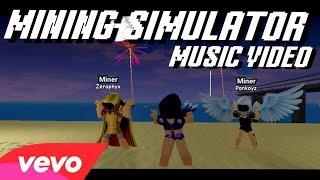 MINING SIMULATOR - DOMINUS (FRIENDS REMIX) [ROBLOX MUSIC VIDEO]