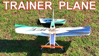 RC Plane for Beginners - HobbyKing Tuff Trainer II RC Plane Maiden Flight - TheRcSaylors