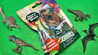 8 New Dinosaur Surprise Toys - Dinosaur Mystery Bags for Kids - T-Rex Spinosaurs