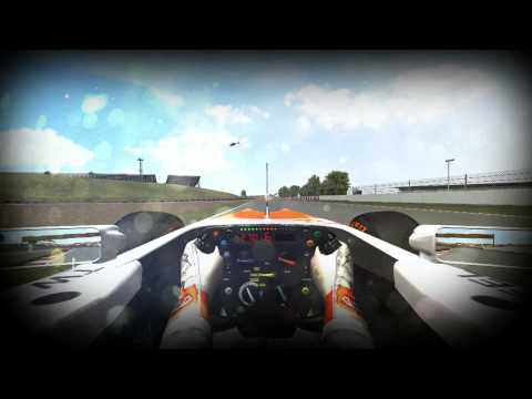 rFactor F1 2013  Spain - Catalunya onboard lap