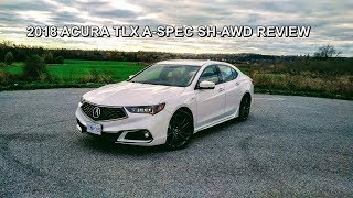 2018 Acura TLX A-Spec SH-AWD Review