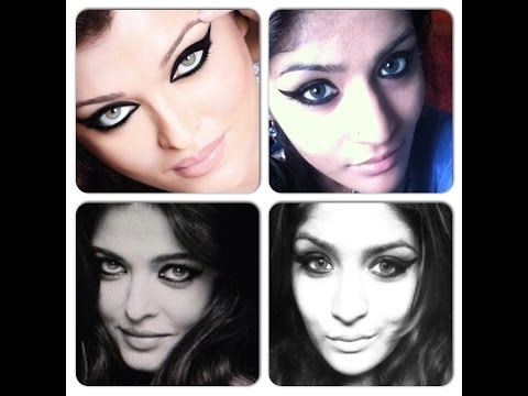 Aishwarya Rai Bachchan L'oreal Magique Kajal Makeup Tutorial-dramatic Winged Liner And Nude Lips video