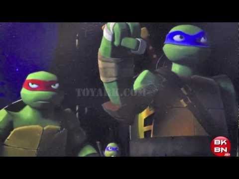 Teenage Mutant Ninja Turtles 2012 CGI Turtles, Shredder & Foot Soldiers Closer Look!