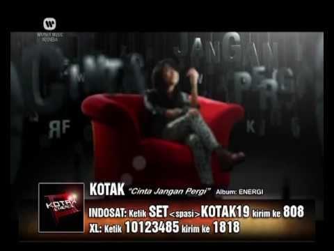 KOTAK Cinta Jangan Pergi (Official Video Clip)