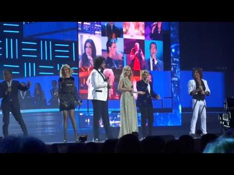 съёмки песня года 2015 ведущие-Лера Кудрявцева и Сергей Лазарев 5 декабря 2015