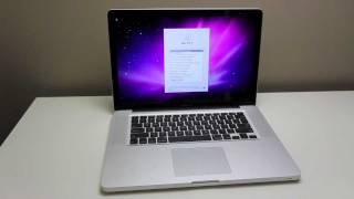 MacBook Pro 2011 Unboxing (Quad-Core)