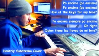 KARAOKE Arcangel Po Encima ft Bryant Myers Piano Cover